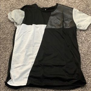 Black & Gray Shirt